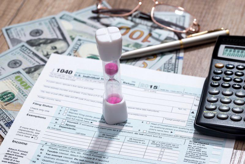 Linda Trent's Tax Extension Breakdown